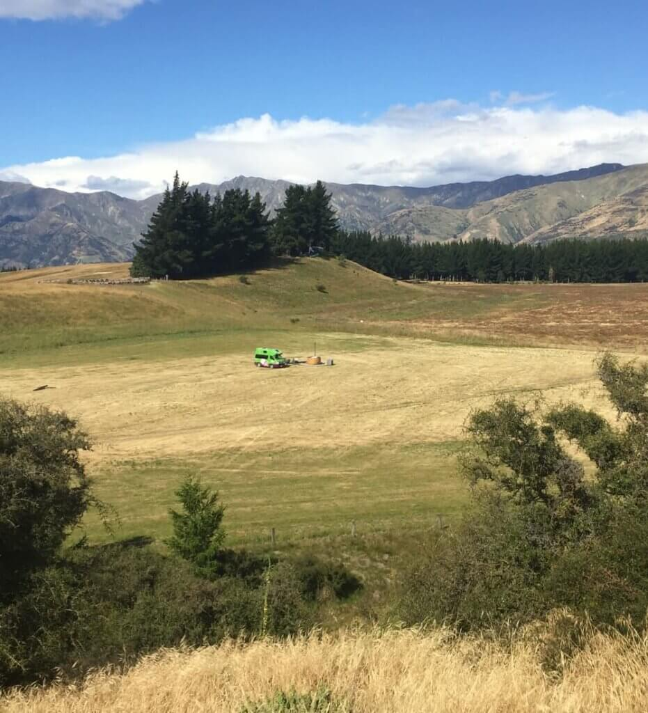 Motorhome Site Hawea Wanaka